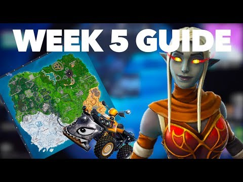 How To Complete The Season 8 Week 5 Challenges FAST In Fortnite Season 8 | Week 5 Challenge Guide