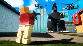 RETO DE LA BASE DE LEGO VS GODZILLA! 😱 TROLLINO Y LOS COMPAS DEFIENDEN CIUDAD LEGO