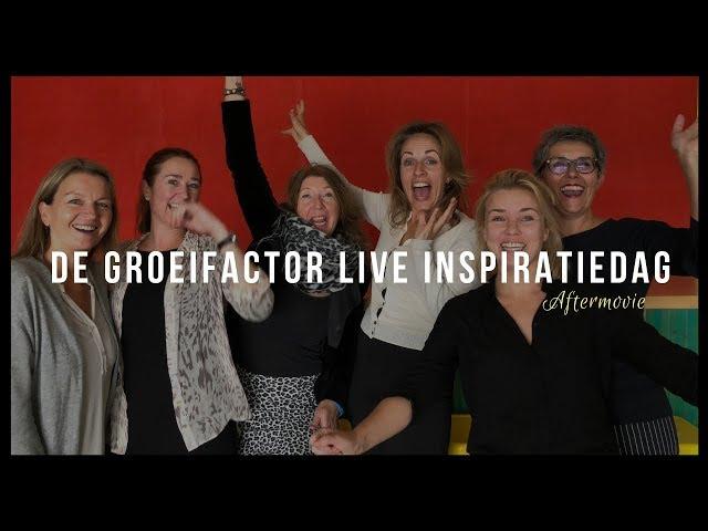 Aftermovie de Groeifactor LIVE Inspiratiedag