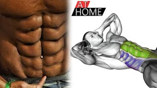 ABS BEST 6 EXERCISES FOR 6 PACK AT HOME ( NO EQUIPEMENT )
