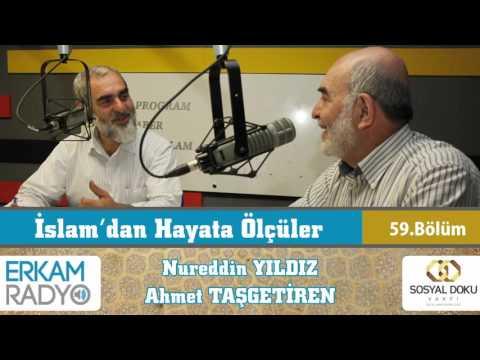 83) İslam'dan Hayata Ölçüler - 59 - (Aile İçinde Kul Hakkı) - Nureddin Yıldız - Ahmet Taşgetiren