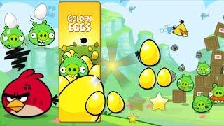 Angry Birds - SECRET GOLDEN EGG MIGHTY EAGLE LEAGUE VS PIGGIES!