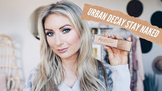 URBAN DECAY STAY NAKED FOUNDATION | REVIEW & WEAR TEST