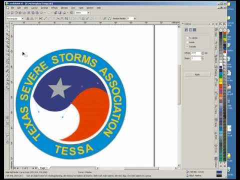 Redraw Bitmap as Vector - Drawing Vector Logo - Clean up JPG