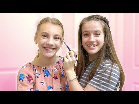 doing-my-makeup-on-my-sister