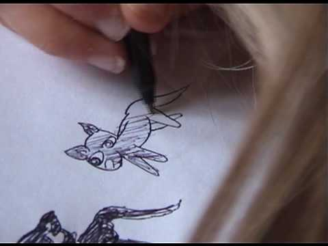 Lucy drawing, 6 Oct 2006