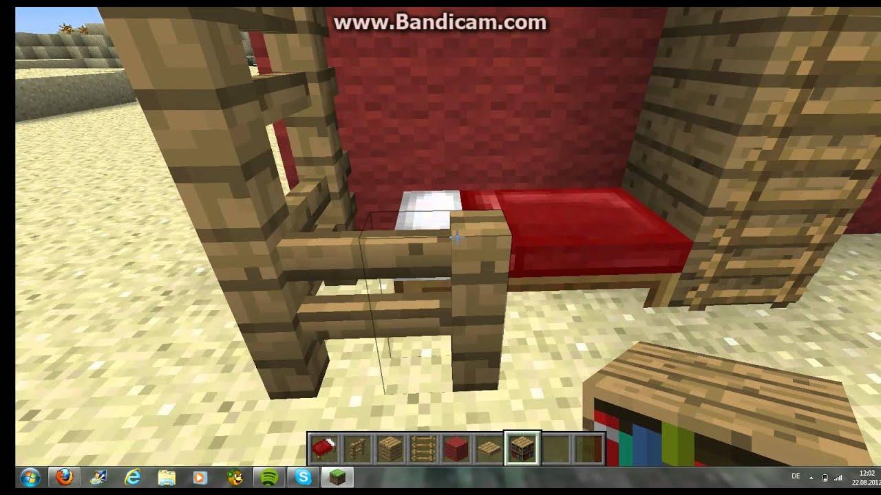 gut minecraft 1 3 2 m bel tutorial voll youtube. Black Bedroom Furniture Sets. Home Design Ideas