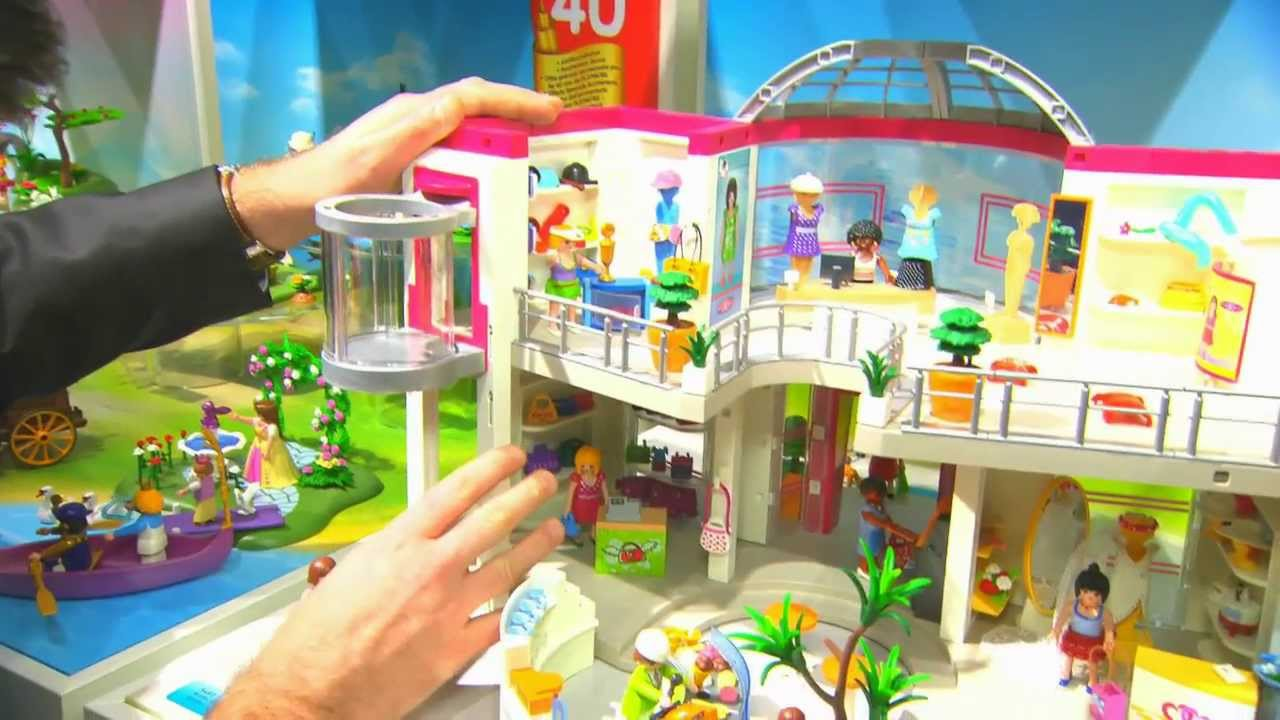Playmobil france salon international du jouet 2014 youtube for Maison moderne playmobil