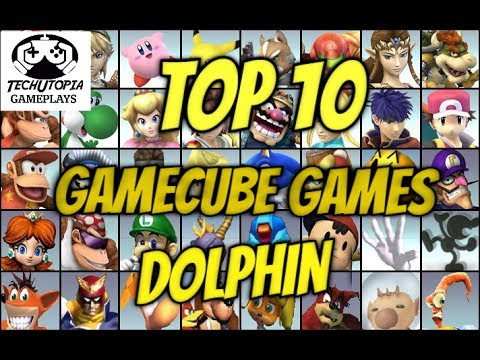 TOP 10 Gamecube Games on Android Smartphone/Dolphin Emulator Nitendo/Gameplay/FHD video/2017