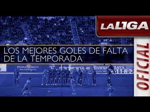Los mejores goles de falta de la temporada 2012/2013