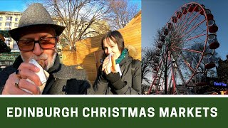 Edinburgh Christmas Markets | Poshcats Vlogmas 2019 Part 8 | Ep182
