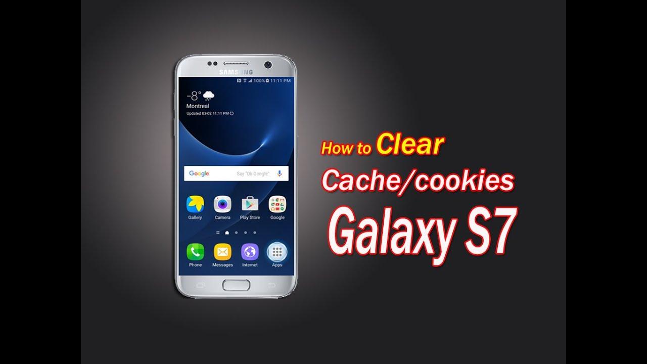 Cookies Samsung Galaxy S7