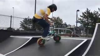 Flatland Mini BMX Tricks