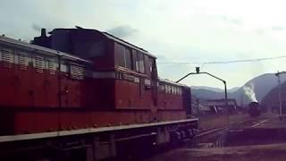島根県津和野駅 DD511043ディーゼル機関車 軸配置:Bo-2-Bo