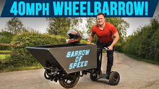 Driving A 40mph Wheelbarrow