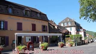La ville de Turckheim en Alsace
