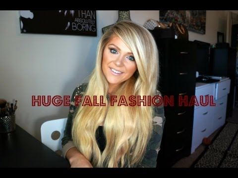 HUGE Fall Fashion Haul: Guess, Love Culture and Arden B!