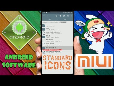 Как вернуть стандартные иконки приложений на Xiaomi \ Стандартные иконки приложений на MIUI 10