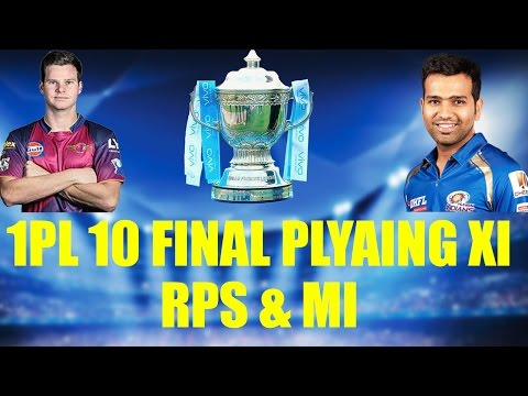 IPL 10 Final : Mumbai vs Pune, Predicted XI for both teams | Oneindia News