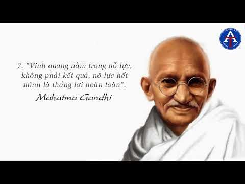 [BÀI HỌC CUỘC SỐNG] - 15 Triết Lý Sống Bất Hủ Của Mahatma Gandhi