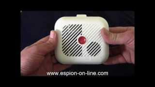 Détecteur de fumée avec caméra espion IP WiFI sans fils