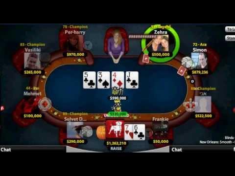 Zynga poker losing streak malette maquillage geant casino