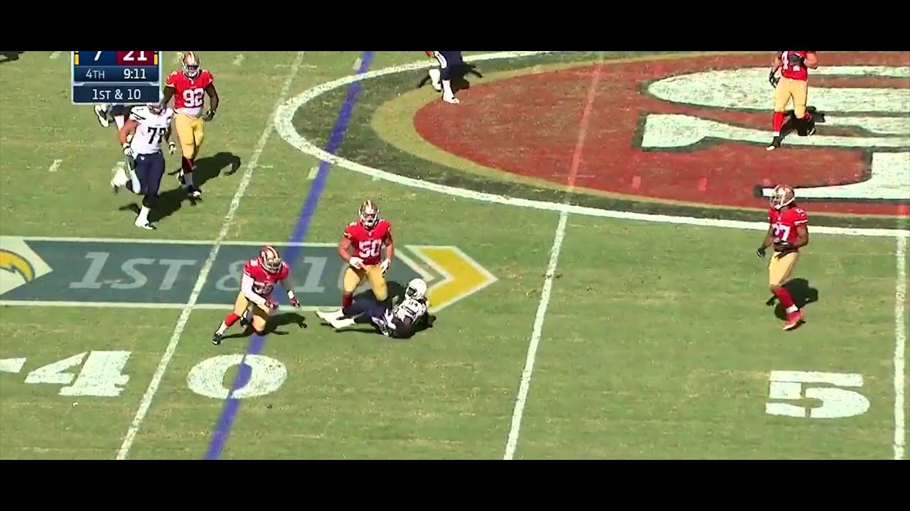 Chris Borland | 2014 Preseason Highlights | San Francisco 49ers