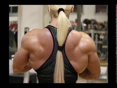 Female Bodybuilder Fbb Massive Muscles New