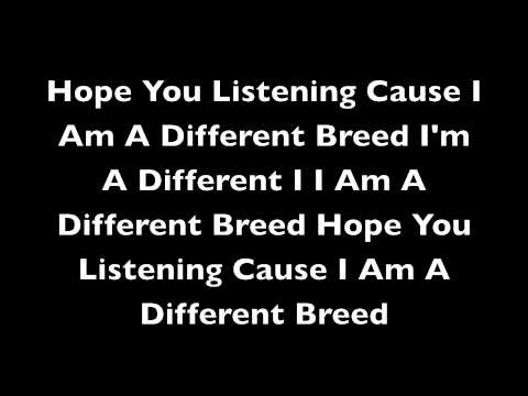 I Am A Different Breed - Dale Power$ & Chef D