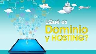 Que es un Dominio y un Hosting?