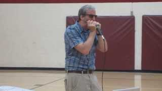 2013 Fall Welcome - Dr. McBeath on his harmonica