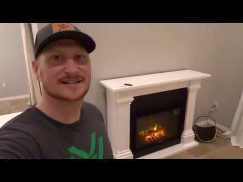 We bought a fireplace from Wayfair. Episode 013