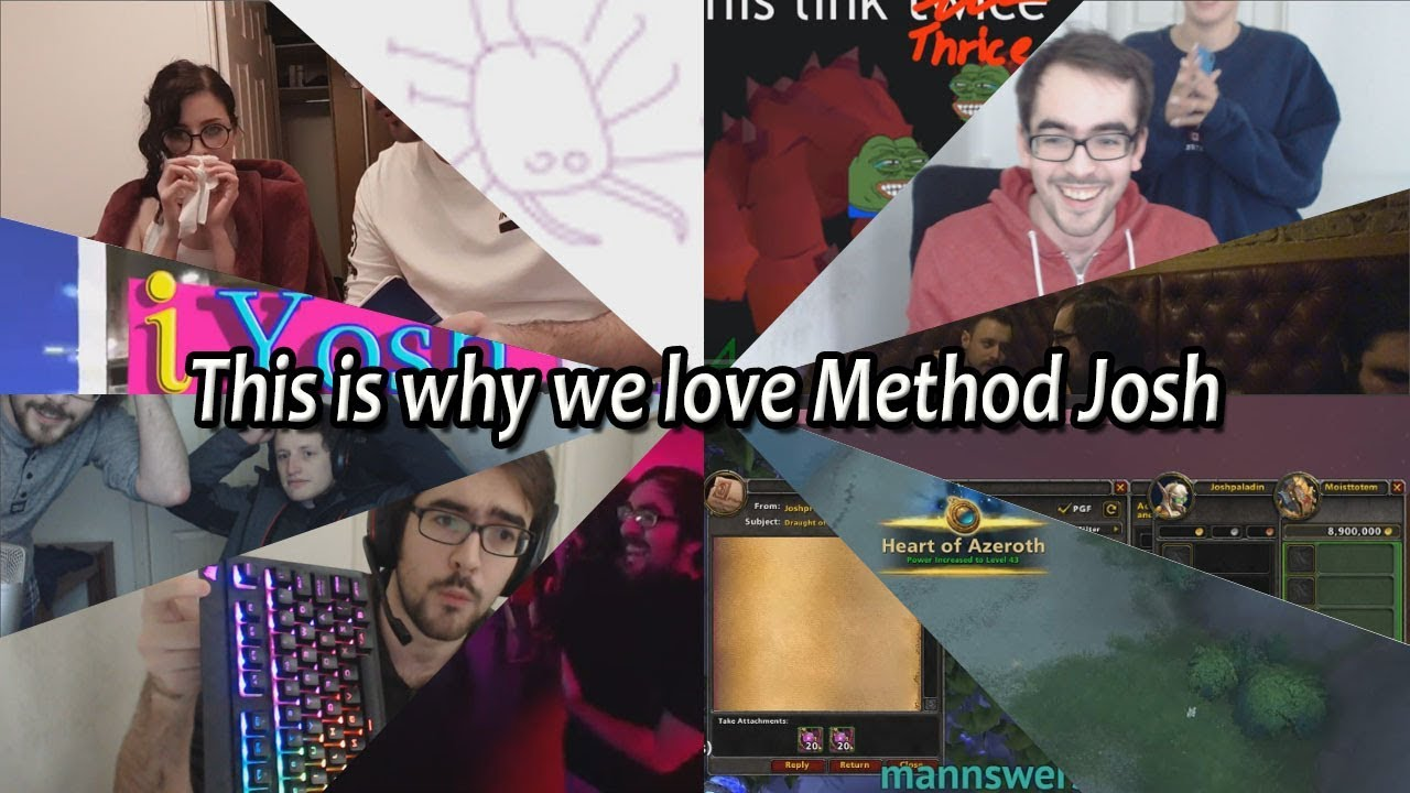 This is why we love Method Josh
