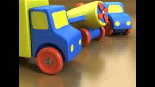 Wooden Toy Car Truck 3d Model From Cgtrader.com