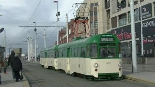Easter Bank Holiday Blackpool Heritage Trams - 28th March 2016