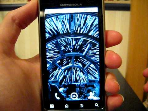 Droid R2 D2 By Motorola Live Wallpaper Star Wars Esb Lightspeed