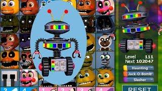 В Фнаф Ворлд Candy Cadet из фнаф 6 Новый Аниматроник новый мод от Макса Fnaf World MOD