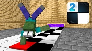 Monster School : NOOB VS PRO PIANO TILES CHALLENGE - Minecraft…