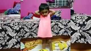 "Cute baby Iniya's new version of ""Johnny Johnny"" Rhymes"