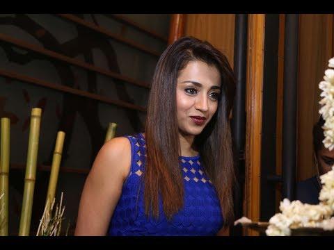 Trisha Actress Inaugurates CHAO Pan Asian Restaurant At Somerset MRC Nagar Chennai | TOC