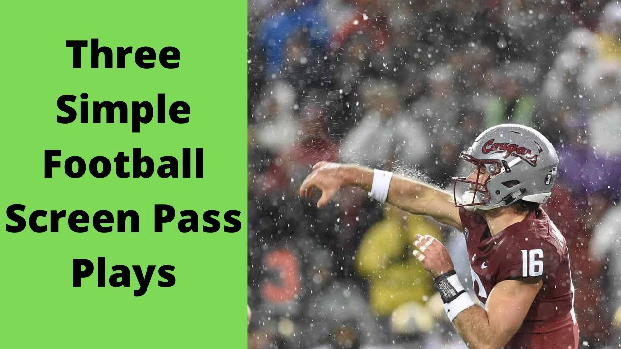 What is a screen play in football