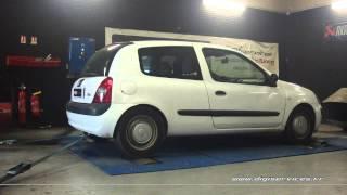 Renault Clio 2 1.5 dci 65cv Reprogrammation Moteur @ 92cv Digiservices Paris 77 Dyno