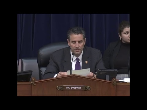 Full Committee Hearing; FOIA: Examining Transparency Under the Trump Administration