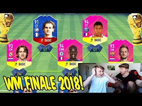 Das krasseste WM FINALE Frankreich vs. Kroatien Fut Draft Battle vs. Bruder! - Fifa 18 Ultimate Team