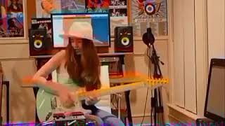 Waterfall and Reverb by Ayla 15 years old guitarist