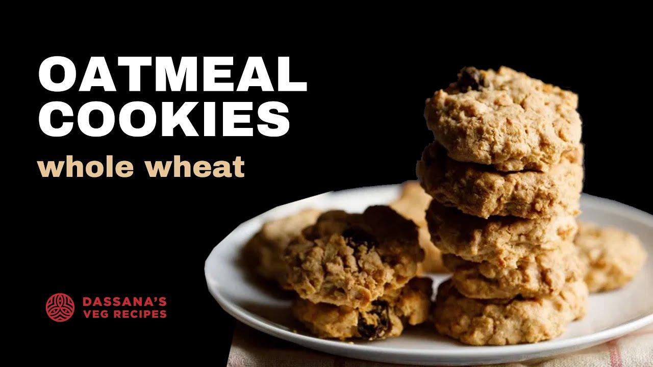 Oatmeal Cookies Oatmeal Raisin Cookies Dassana S Veg Recipes