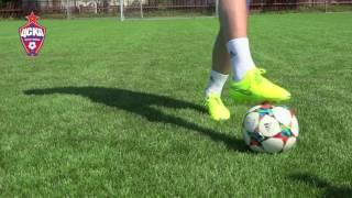 Урок №4 - Видео уроки по футбольным упражнениям от Евгения Алдонина