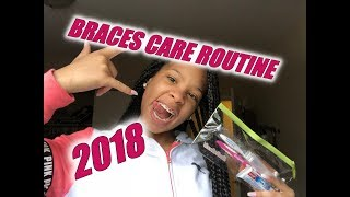 Braces Care Routine