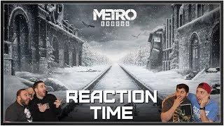 Metro: Exodus E3 2017 Trailer - Reaction Time!
