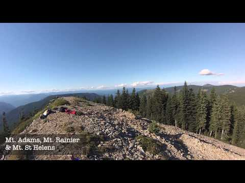 "Wahtum Lake & Chinidere Mountain ""Hiking Oregon Trails"" Detailed Hiking Review Episode 7"